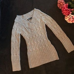 Wet Seal cable knit sweater